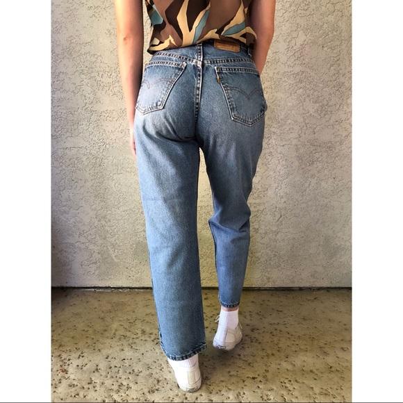 f66c5fc941f Levi s Denim -  vintage  Levis 562 orange tab student jeans